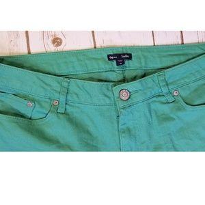 GAP Shorts - GAP Hadley Green Cut Off Jean Shorts
